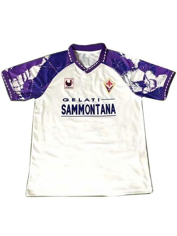 ACF Fiorentina away retro soccer jersey maillot match men's second sportswear football shirt 1994-1995