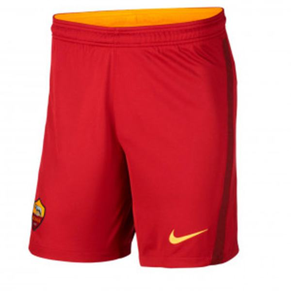 As roma home football shorts soccer maillot match men's 1st soccer short pants 2020-2021