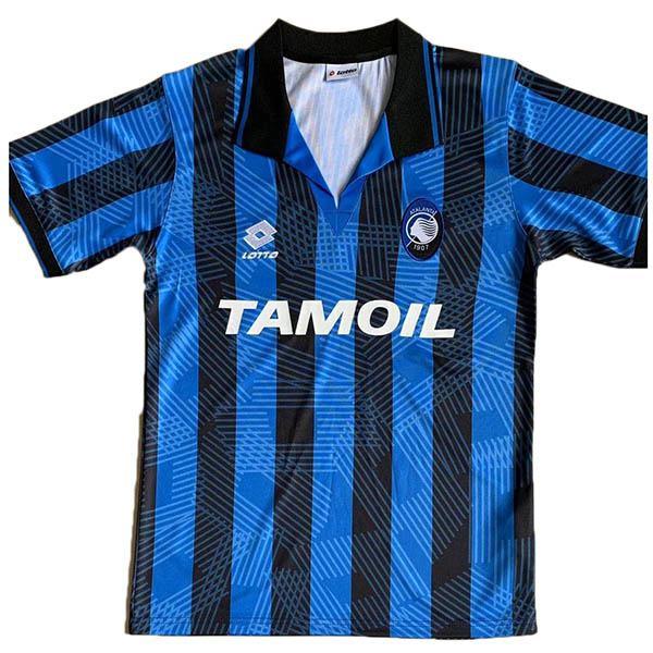 Atalanta home retro soccer jersey maillot match men's 1st sportwear football shirt 1991