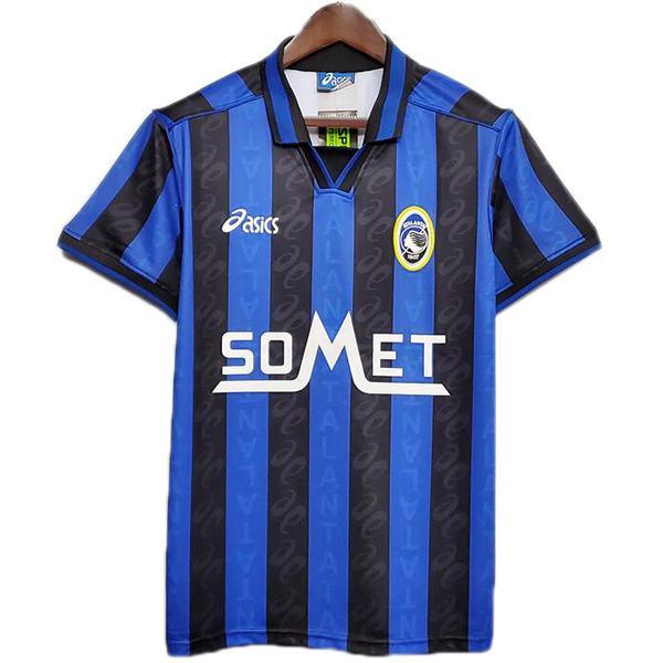 Atalanta home retro soccer jersey maillot match men's first sportswear football shirt 1996-1997