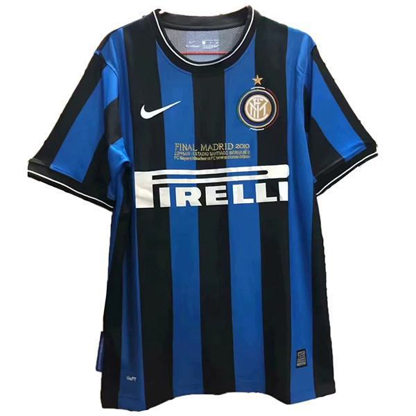 Inter milan 2010 champions league final football jersey
