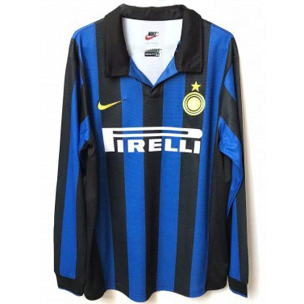 Inter Milan Home Retro Long Sleeve Jersey 1998