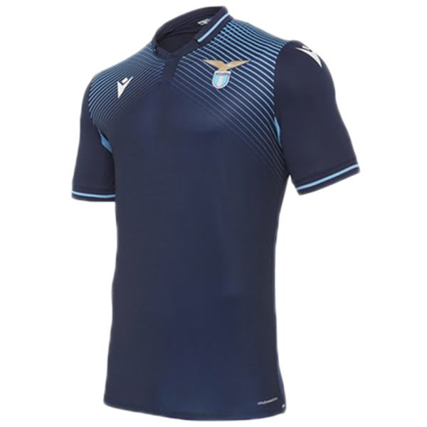 Lazio away jersey maillot match men's second soccer sportwear football shirt 2020-2021