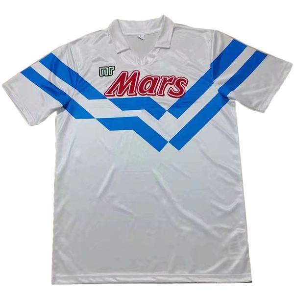 Napoli away retro soccer jersey sportswear men's second soccer shirt football sport t-shirt 1988-1989