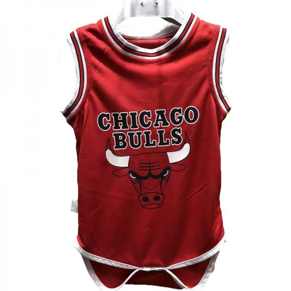 Chicago bulls 23 jordan baby onesie basketball jersey 2018