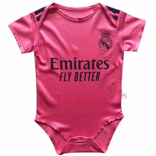 Real madrid away baby onesie soccer kids jersey 2020-2021
