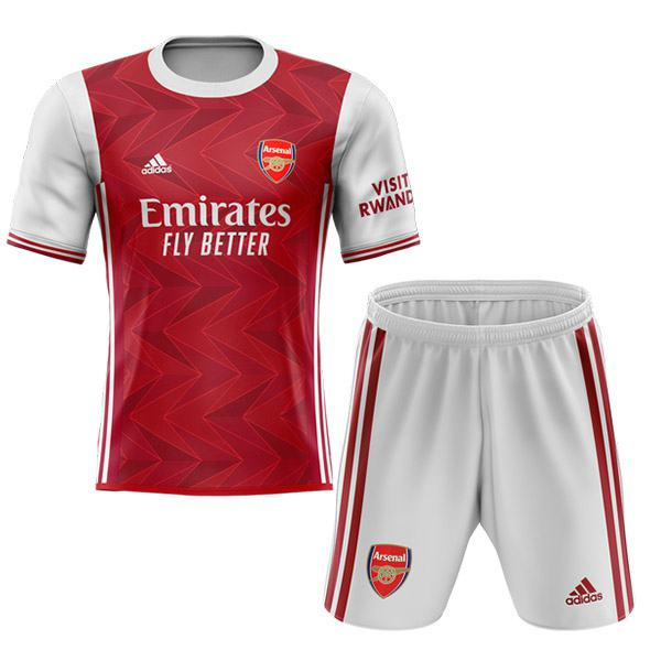 Arsenal home kids kit children football shirt youth soccer 1st uniforms 2020-2021