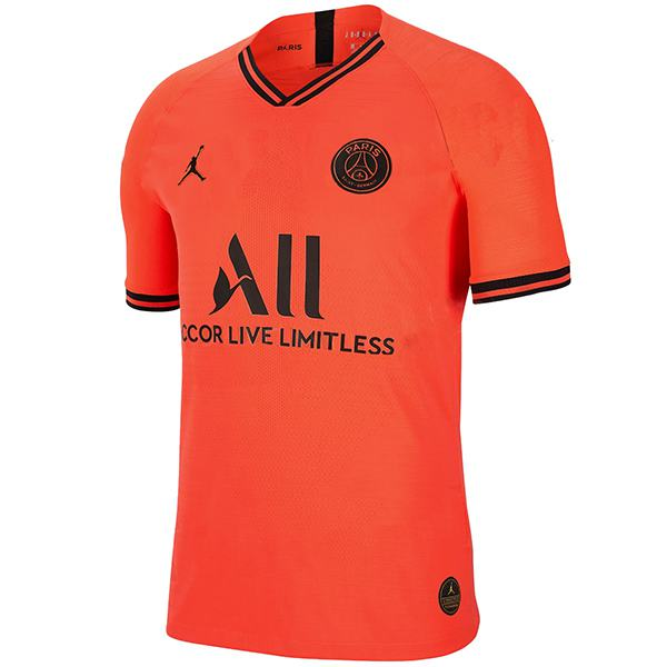 Jordan paris saint germain away jersey PSG men's football red soccer shirt 2019/2020
