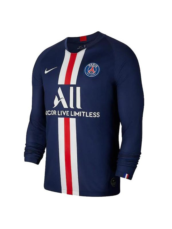 Paris Saint Germain Home Long Sleeve Football Jersey Psg First Soccer Shirt 2019 2020