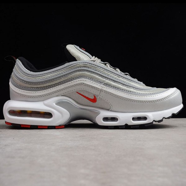 Bullet AIR MAX PLUS 97 TN air cushion Silver Shoes 2018