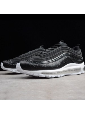 Bullet Air Max PLUS 97 TN black white shoes 2018