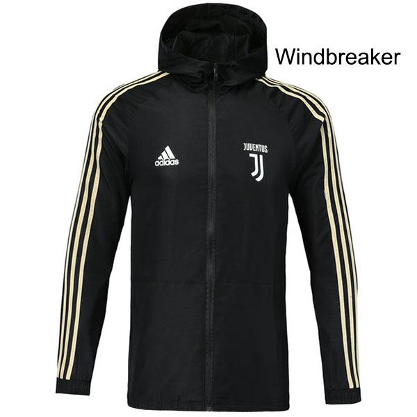 Juventus Black Windrunner Jacket 2018/2019