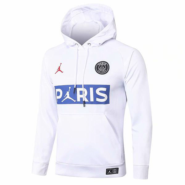 Jordan Paris Saint Germain Air Fly Hoodie Jacket Tracksuit Soccer Pants Suit Sports Set Cleats White PSG Men's Clothes Football Training Jersey 2020/2021