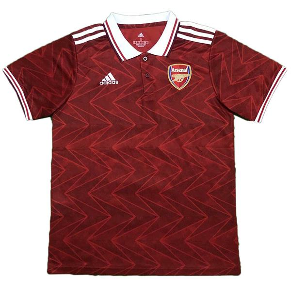Arsenal Polo Jersey Football Training Jersey Red Soccer Teal Sportwear T-shirt 2020-2021