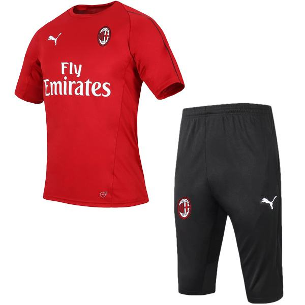 AC milan training jersey red shirt 2019