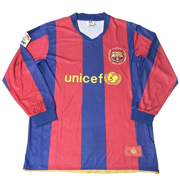 Barcelona 50th commemorative long sleeve jersey