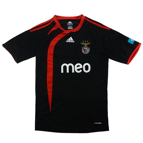 Benfica away jersey retro soccer match men's second sportswear football tops sport shirt 2009-2010