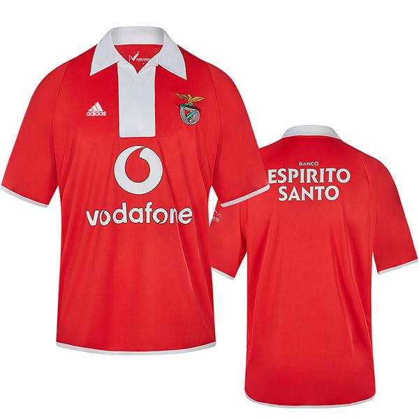 Benfica home jersey retro soccer t-shirt football tops sport shirt 2004-2005