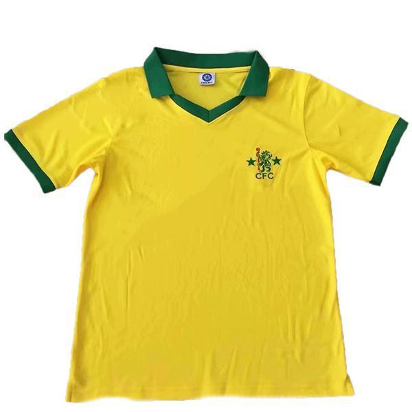 Chelsea away vintage retro soccer jersey maillot match men's second soccer sportswear football shirt 1980-1982