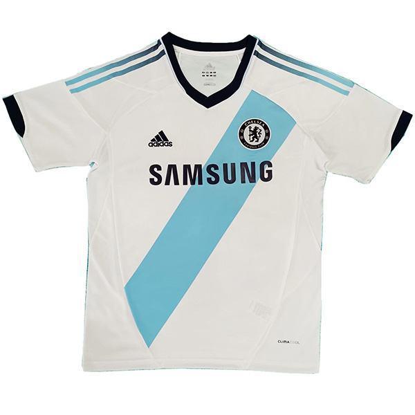 Chelsea away vintage retro soccer jersey maillot match men's second soccer sportswear football shirt 2012-2013