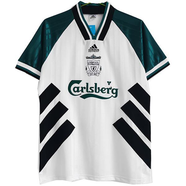 Liverpool away retro jersey vintage soccer match men's second sportswear football shirt 1993-1995