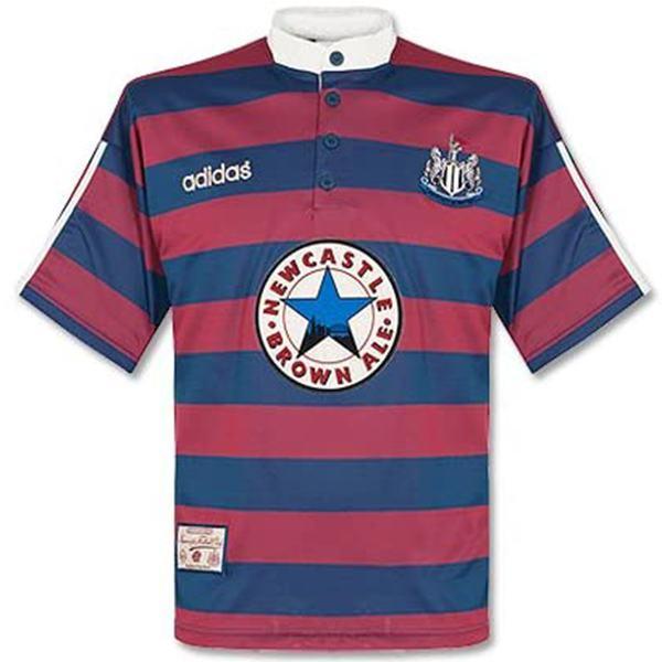 Newcastle United home retro jersey vintage soccer match men's first sportswear football shirt 1995-1996