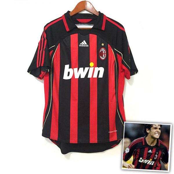 AC Milan Home KAKA Retro Jersey 2006