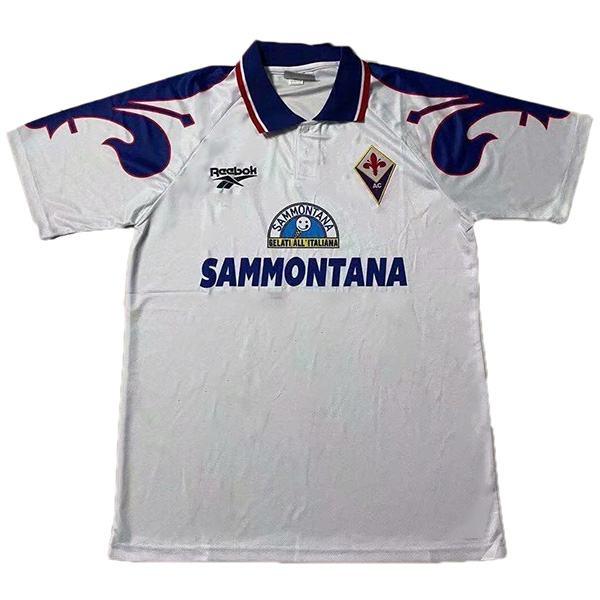 ACF Fiorentina away jersey retro vintage soccer match men's second sportswear football shirt 1995-1996