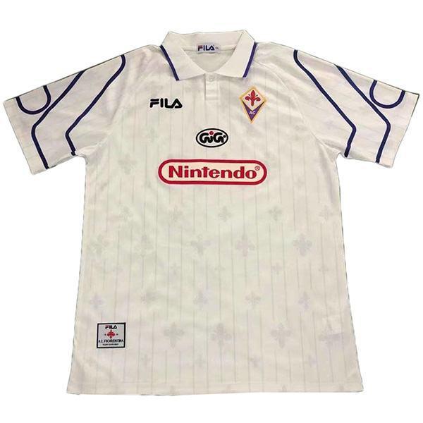 ACF Fiorentina away vintage retro jersey maillot match men's second soccer sportswear football shirt 1997-1998