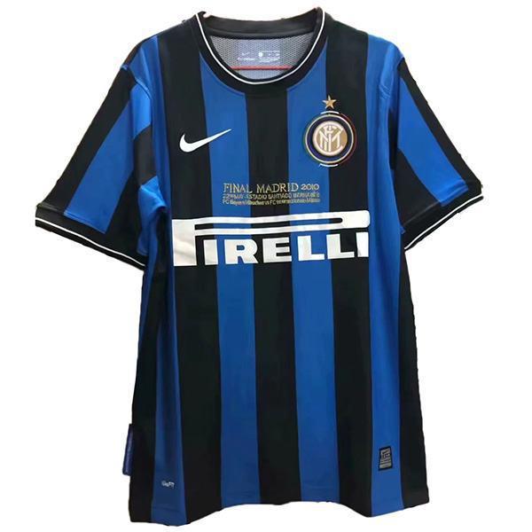 Inter milan 2010 champions league final football jersey